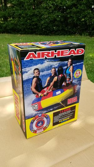 AIRHEAD MEGA 1-4 Rider 76in Diameter NEW IN HAND! PICK UP ONLY for Sale in Leonia, NJ