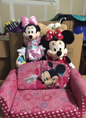 Disney Minnie flip open foam sofa for Sale in Concord, CA