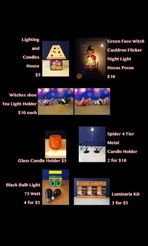 Halloween Lighting $5-$10 for Sale in Mesa, AZ