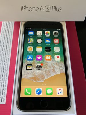 Unlocked iPhone 6S Plus 64GB Space Grey with Box for Sale in San Jose, CA