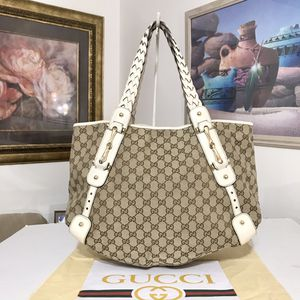 Gucci GG Pattern Canvas Hobo Shoulder Bag 💼 for Sale in Mesa, AZ