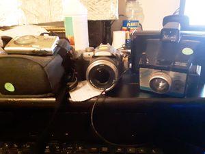 3 cameras Poloroid vintage Nikon coolpix Lumix for Sale in Alexandria, LA
