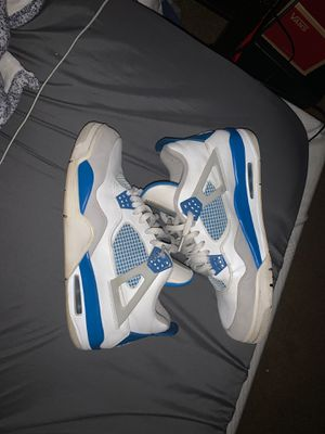 military blue 4s size 12 READ DESCRIPTION** for Sale in Portland, OR