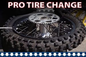 Dirt bike tire change for Sale in North Las Vegas, NV