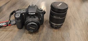 Canon 60d with 2 lenses for Sale in North Bergen, NJ