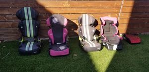 Evenflo & Harmony Car booster Seats for sale. for Sale in Bostonia, CA