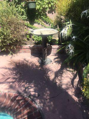 Copper bird bath for Sale in Santa Fe Springs, CA