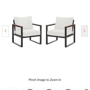 Hampton Bay conversation Chairs for Sale in Miami, FL