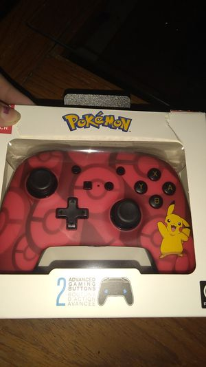 Pokemon Nintendo Switch Pro Controller for Sale in Rocky Hill, CT