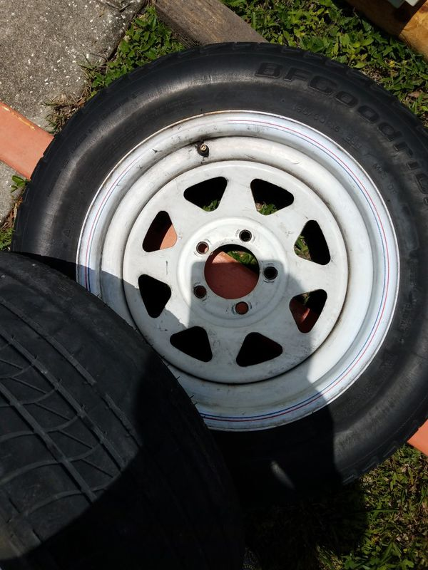 "Tires and Rims 2 set 15"" Rims"
