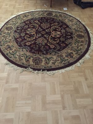 Round rug for Sale in Gaithersburg, MD