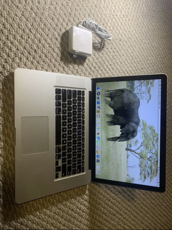 Apple Mac Pro, 15.4-inch, macOS High Sierra, Intel Core i5, Storage 320GB, Processor 2.4GHz, Memory 8GB, High Sierra! PLEASE MAKE AN OFFER,
