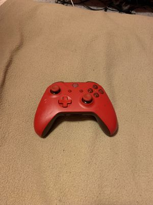 Xbox one controller red edition for Sale in Melbourne, FL