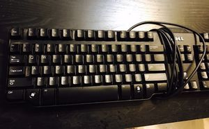 Dell black Keyboard for Sale in Mankato, MN