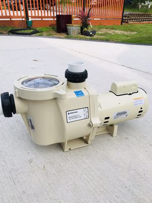 Pentair Whisperflo 2 speed pump. for Sale in Edmonds, WA