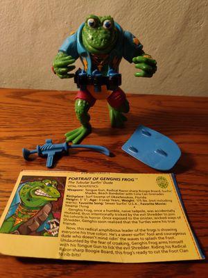 Teenage mutant ninja turtles: Genghis frog 1989 for Sale in Seattle, WA