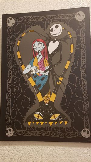 Jack and Sally picture for Sale in San Antonio, TX