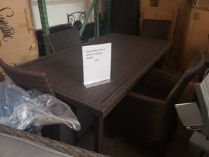New 5pc outdoor patio furniture dining set tax included for Sale in Hayward, CA