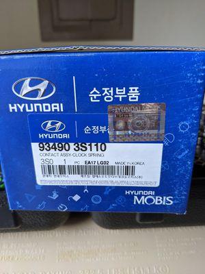 2010-2016 Hyundai Elantra Clock Spring for Sale in Lacey, WA