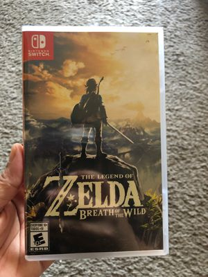 Zelda Breath of the Wild Nintendo Switch Game for Sale in Mesa, AZ