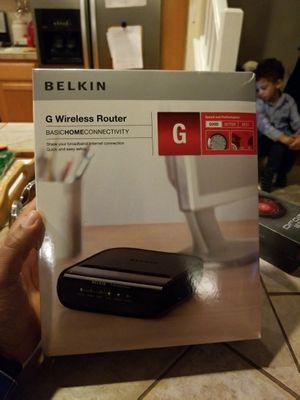 Belkin G Wireless Router for Sale in Hillsboro, OR