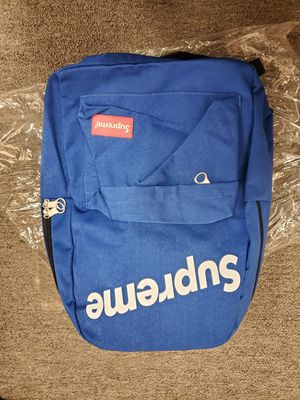 BRAND NEW SUPREME BLUE BACKPACK for Sale in City of Industry, CA