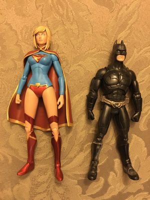 Collectibles DC comics essentials the new 52 Supergirl action figure Batman fodder lot for Sale in Wichita, KS