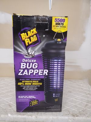 New deluxe bug zapper 5500 volts for Sale in Riverside, CA