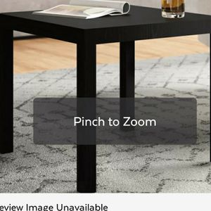 Black Coffee Table, End Table And Entertainment Stands for Sale in Taylor, MI