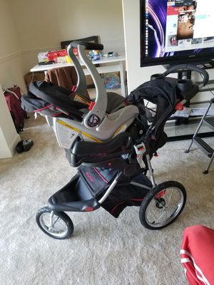 Stroller and Car Seat Combination Set. Like new for Sale in Fairfax, VA