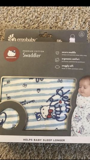 Ergobaby Hello Kitty Swaddler- Sail Away design for Sale in Tacoma, WA