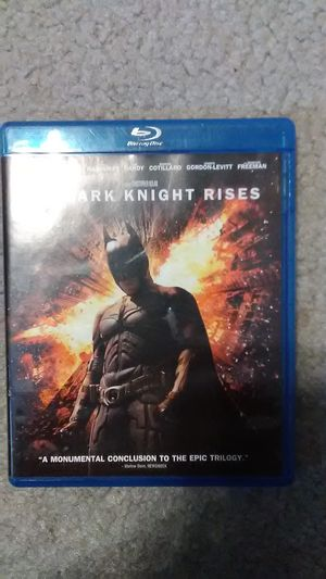 The dark Knight rises 3 set DVD for Sale in US