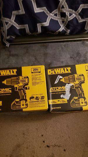 "Dewalt 20v 1/2"" drills for Sale in Houston, TX"