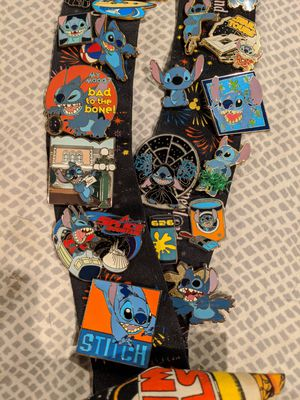 Lot of stitch pins -all official Disney pins from 2002-2012- prices vary for Sale in Fircrest, WA