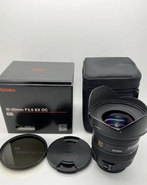 Sigma Wide Angle Lens for Sale in Philadelphia, PA