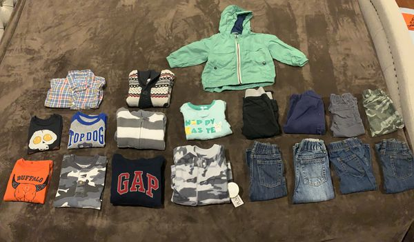 Boys fall/winter clothes. Size 12 months & 12-18 months