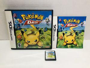 Pokémon dash DS for Sale in Chula Vista, CA