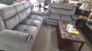 Brand New Grey Microfiber Sofa + Love Seat for Sale in Silver Spring, MD