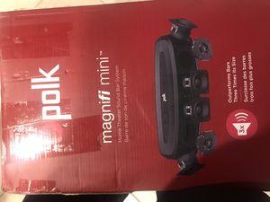 Polk Audio MagniFi Mini Home Theater Sound Bar System with Builtin Chromecast for Sale in Elk Grove, CA