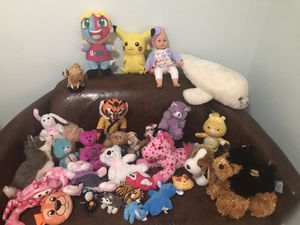 stuffed animals for Sale in Elgin, TX