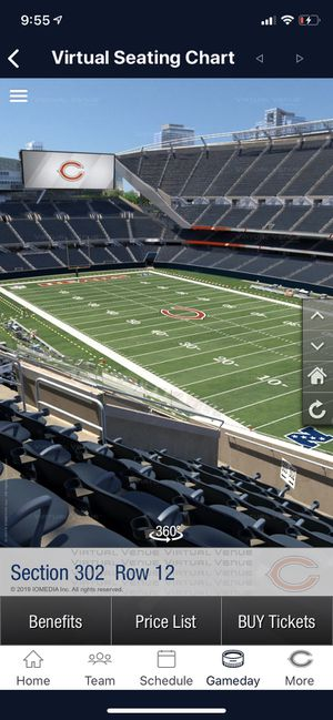 CHICAGO BEARS TICKETS!!! for Sale in Chicago, IL