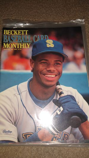1990 Ken Griffey Jr Beckett Baseball Card Monthly for Sale in Dallas, GA