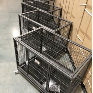 Set of 6 - heavy duty Kennels see dimensions in second picture 🐶Largest Variety In The Valley! for Sale in Maricopa, AZ