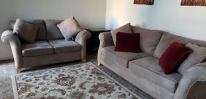COUCH AND LOVESEAT with carpet for Sale in Modesto, CA