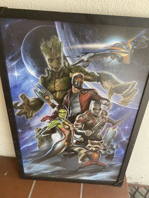 Guardians of the galaxy wall art for Sale in Fullerton, CA