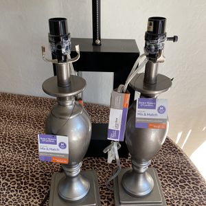 4 Lamps (2 of Each) for Sale in Gilbert, AZ