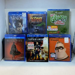 blu rays for Sale in Torrance, CA