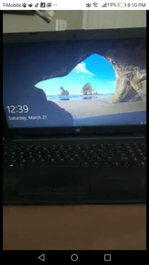 HP notebook with charger and carrying case for Sale in Denver, CO