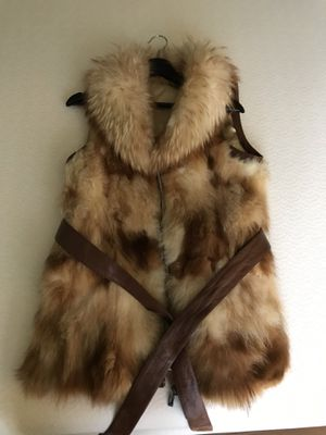 Genuine Fox Fur Vest (M/L) for Sale in Germantown, MD