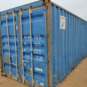 20ft Steel Wind & Water Tight Shipping Container For Sale for Sale in Humble, TX